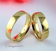 B-198 Arany karikagyűrű, jegygyűrű