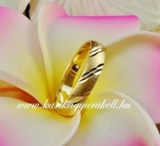 B-200 Arany karikagyűrű, jegygyűrű