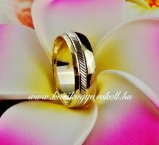 B-201 Arany karikagyűrű, jegygyűrű