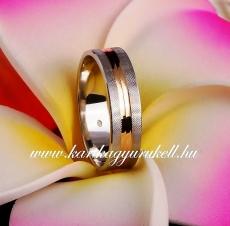 B-008 Arany karikagyűrű, jegygyűrű