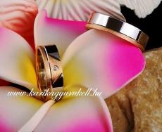 B-029 Arany karikagyűrű, jegygyűrű