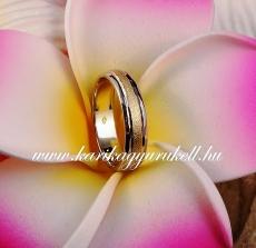 B-031 Arany karikagyűrű, jegygyűrű
