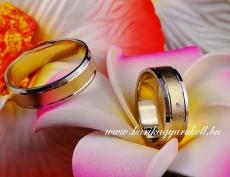 B-033 Arany karikagyűrű, jegygyűrű