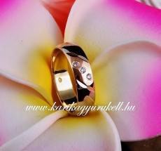 B-046 Arany karikagyűrű, jegygyűrű