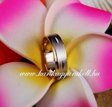 B-074 Arany karikagyűrű, jegygyűrű