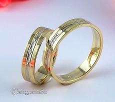 B-005 Arany karikagyűrű, jegygyűrű