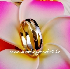 B-101 Arany karikagyűrű, jegygyűrű