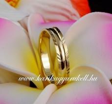 B-115 Arany karikagyűrű, jegygyűrű