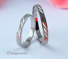 B-194 F Arany karikagyűrű, jegygyűrű