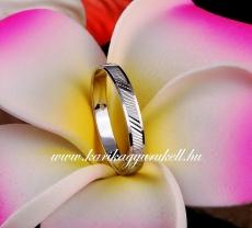 B-195 F Arany karikagyűrű, jegygyűrű
