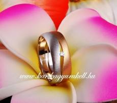 B-185 Arany karikagyűrű, jegygyűrű