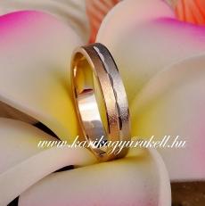 B-009 Arany karikagyűrű, jegygyűrű