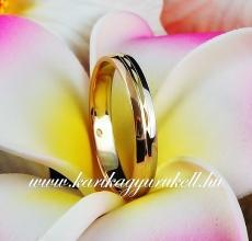 B-015 Arany karikagyűrű, jegygyűrű