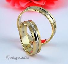 B-016 Arany karikagyűrű, jegygyűrű