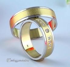 LK-210 Arany karikagyűrű, jegygyűrű