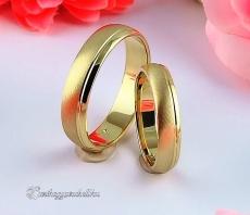 LK-214 Arany karikagyűrű, jegygyűrű