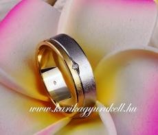 B-023 Arany karikagyűrű, jegygyűrű