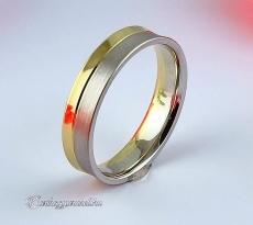 LK-215 Arany karikagyűrű, jegygyűrű