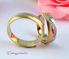 LK-216 Arany karikagyűrű, jegygyűrű