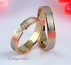 LK-217 Arany karikagyűrű, jegygyűrű
