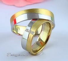 LK-219 Arany karikagyűrű, jegygyűrű