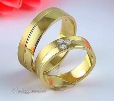 LK-221 Arany karikagyűrű, jegygyűrű