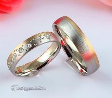 LK-222 Arany karikagyűrű, jegygyűrű