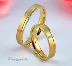 LK-223 Arany karikagyűrű, jegygyűrű