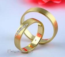 LK-224 Arany karikagyűrű, jegygyűrű