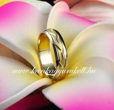 B-030 Arany karikagyűrű, jegygyűrű