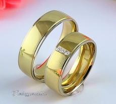 LK-226 Arany karikagyűrű, jegygyűrű