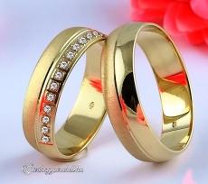 LK-227 Arany karikagyűrű, jegygyűrű