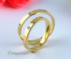 LK-236 Arany karikagyűrű, jegygyűrű