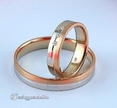 LK-238 Arany karikagyűrű, jegygyűrű