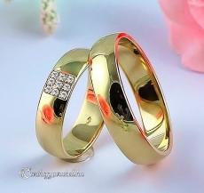 LK-240 Arany karikagyűrű, jegygyűrű
