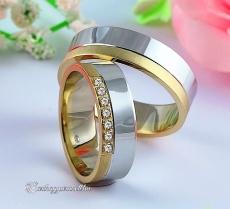 LK-242 Arany karikagyűrű, jegygyűrű