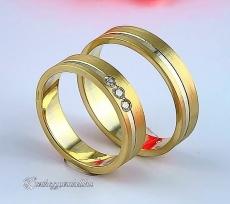 LK-243 Arany karikagyűrű, jegygyűrű