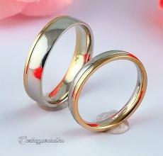 LK-245 Arany karikagyűrű, jegygyűrű
