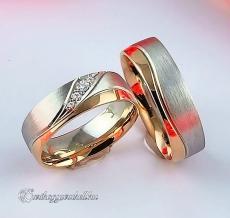 LK-246 Arany karikagyűrű, jegygyűrű