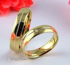 LK-250 Arany karikagyűrű, jegygyűrű