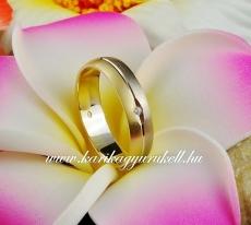 B-037 Arany karikagyűrű, jegygyűrű
