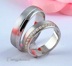 LK-256 Arany karikagyűrű, jegygyűrű