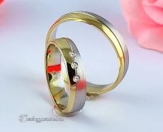 LK-257 Arany karikagyűrű, jegygyűrű