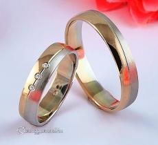 LK-258 Arany karikagyűrű, jegygyűrű