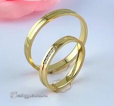 LK-259 Arany karikagyűrű, jegygyűrű