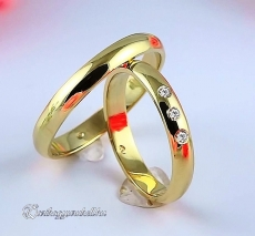 LK-260 Arany karikagyűrű, jegygyűrű