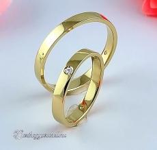 LK-261 Arany karikagyűrű, jegygyűrű