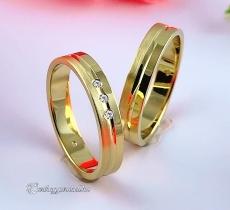 LK-262 Arany karikagyűrű, jegygyűrű