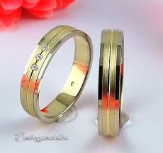LK-264 Arany karikagyűrű, jegygyűrű