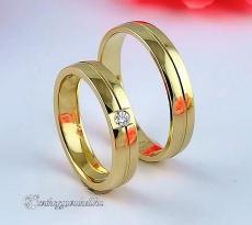 LK-265 Arany karikagyűrű, jegygyűrű